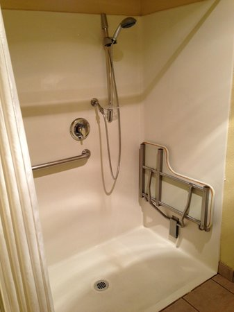Comfort Suites Airport: Bathtub/shower