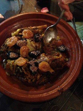 Riad Maryam Restaurant : tajine of young goat