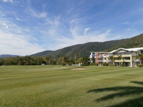 The Sebel Palm Cove Coral Coast: The Apartments from 9th Green.