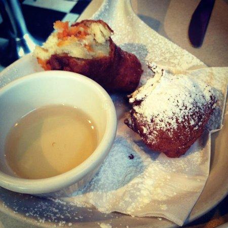 Blue Moon Diner: Sweet potato beignets
