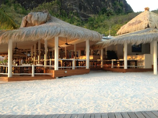 Sugar Beach, A Viceroy Resort: View of The Bayside Restaurant