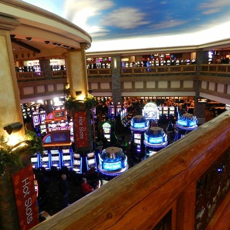 Ameristar Casino Black Hawk: Casino from upper floor