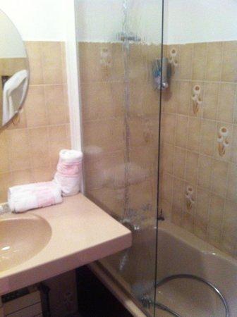 Hotel Les Airelles: La salle de bain
