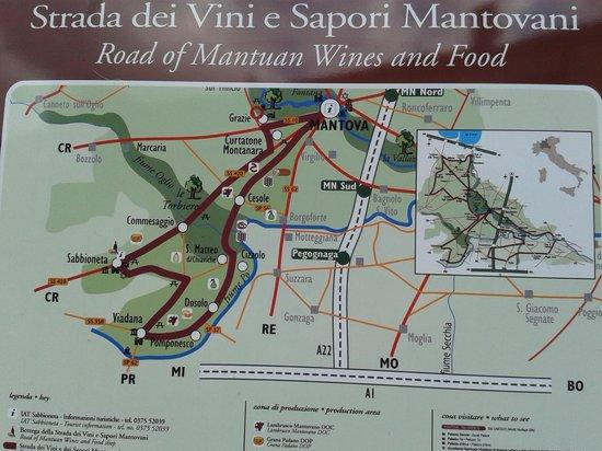 Province of Mantua, Italy: La strada dei vini e dei sapori mantovani 'da non perdere '