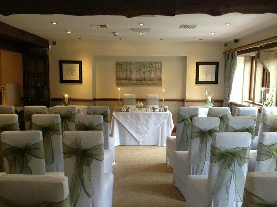 Woodman Inn: Wedding civil ceremony