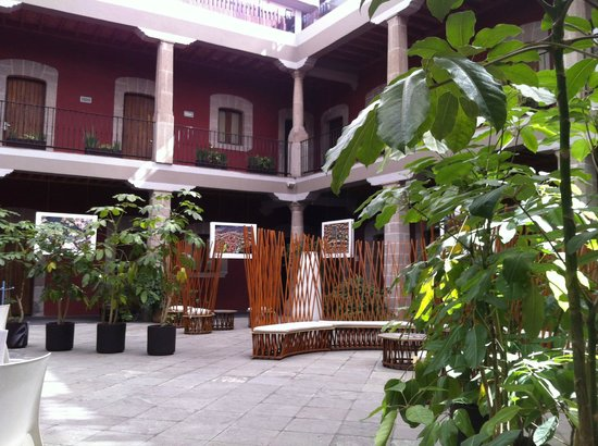 Boutique Hotel de Cortes : Courtyard