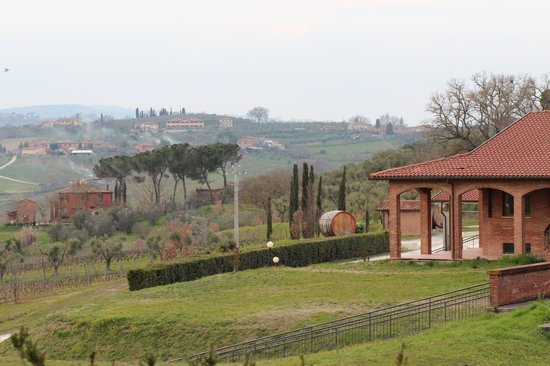 Relais Villa Grazianella - Fattoria del Cerro: view