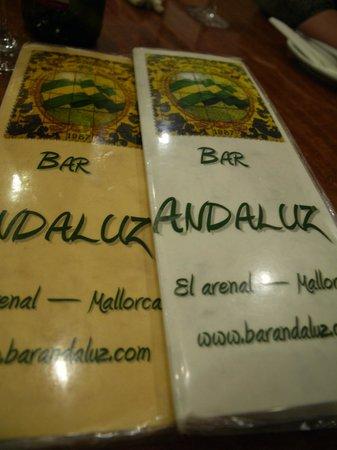 Playa Golf: El Andaluz tapas restaurant
