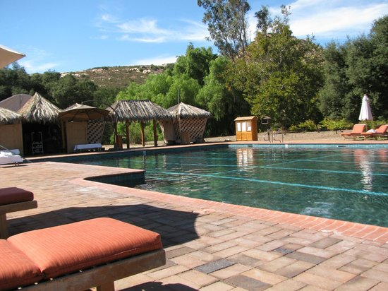 Rancho La Puerta Spa: Activity Pool (one of 5)