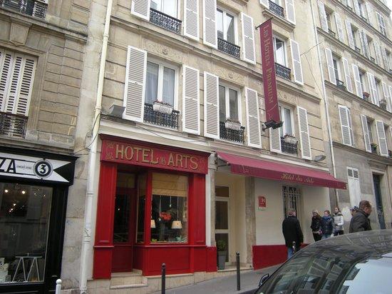 Hote Des Art Picture Of Hotel Des Arts Montmartre