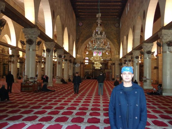 Al Aqsa Mosque: inside view