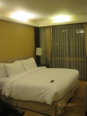 Chateau de Bangkok: Comfy bed