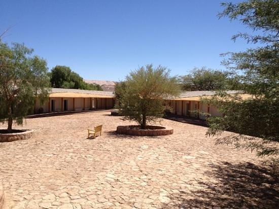 Explora Atacama - All Inclusive: the courtyard of bedrooms.