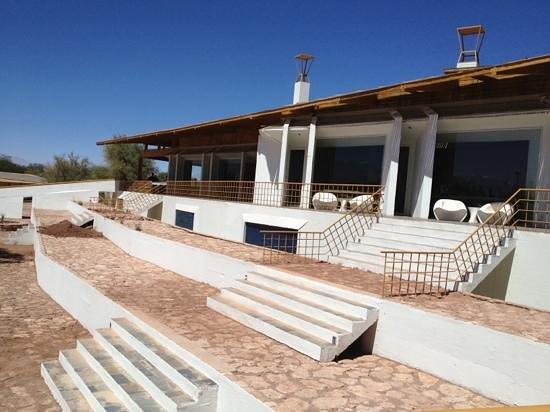 Explora Atacama - All Inclusive: the main lobby/restaurant building.