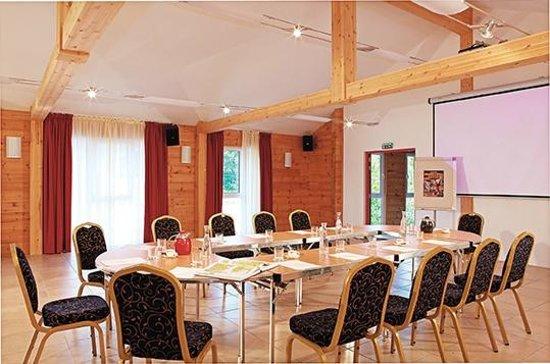 Hotel Restaurant des Lacs : salle de conference