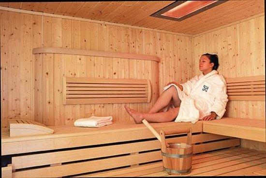 Hotel Restaurant des Lacs : sauna bien etre