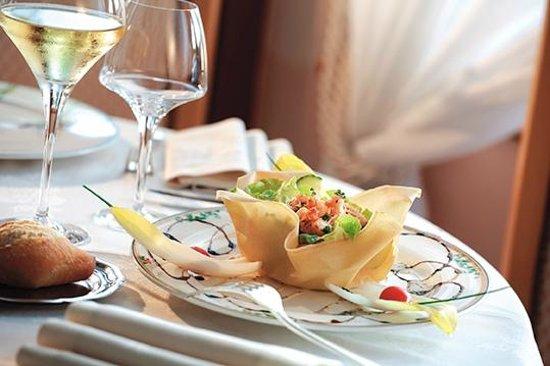 Hotel Restaurant des Lacs : Croustille de queues d'écrevisses