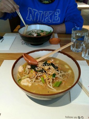 Wagamama - Earls Court: Sopa Miso Noddles