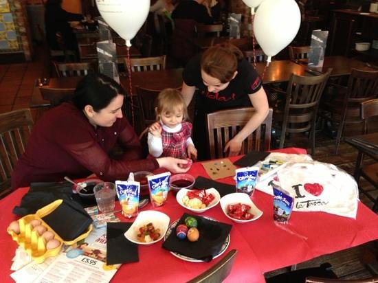 La Tasca - Bournemouth: la tasca Easter family fun day