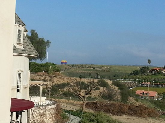 Inn at Churon Winery: Room with a view...