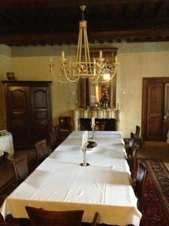 Domaine de Rhodes: comedor