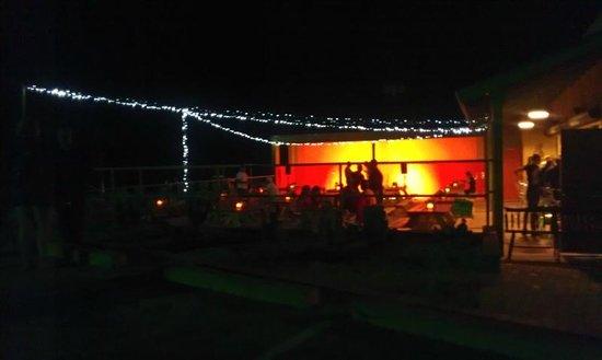 Saguaro Corners Restaurant: Outside Patio Area