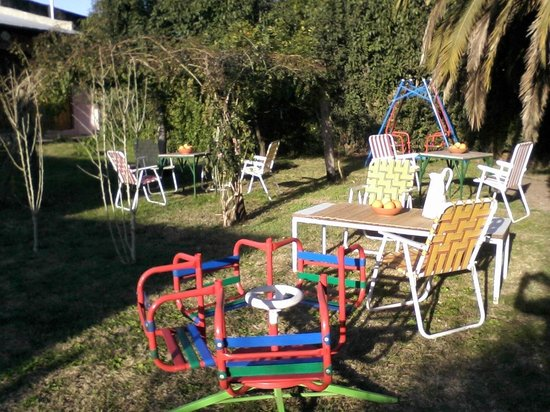 Hostal Don Mateo: Juegos para niños en el parque