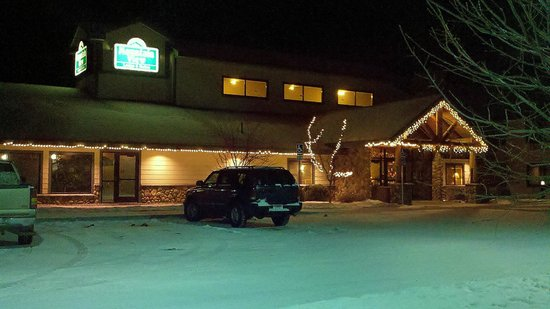 MountainView Lodge & Suites: Fresh Snow