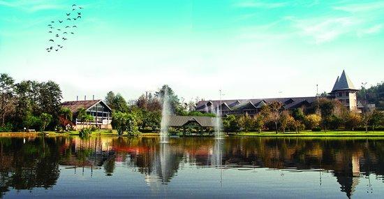 Hotel Termas De Jurema: Vista do Lago