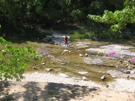 Blanchard Springs Caverns: Sylamore Creek Swimming