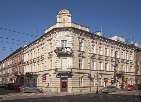 Enigma Hostel & Apartments: Main view
