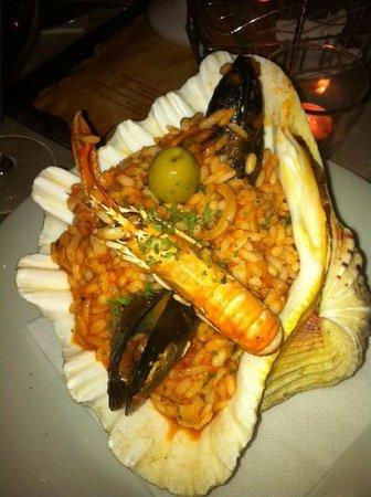 Renaissance: seafood risotto