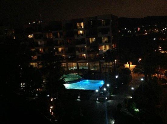 Hotel Coral & Marina: VISTA DESDE EL BALCON