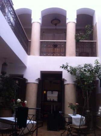Riad Princesse Jamila: hall central