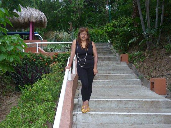 Las Brisas Huatulco: Rumbo al comedor