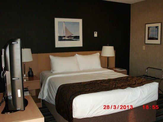 Blue Horizon Hotel: Queen bed