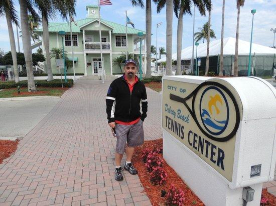 Delray Beach Stadium & Tennis Center : At the Delray tennis center