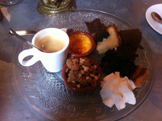 Le Vaffieu: Le café gourmand très copieux