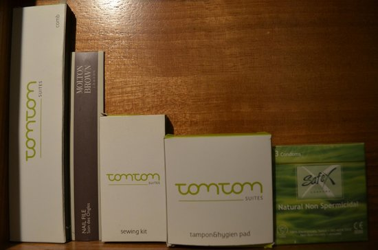 Tomtom Suites: All amenities you can think of