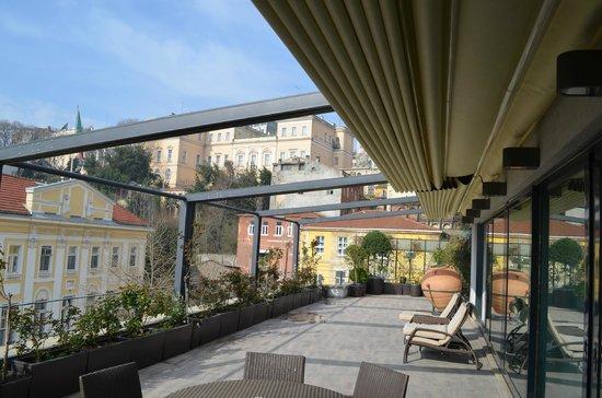 Tomtom Suites: Luxury suite terrace (room 41)
