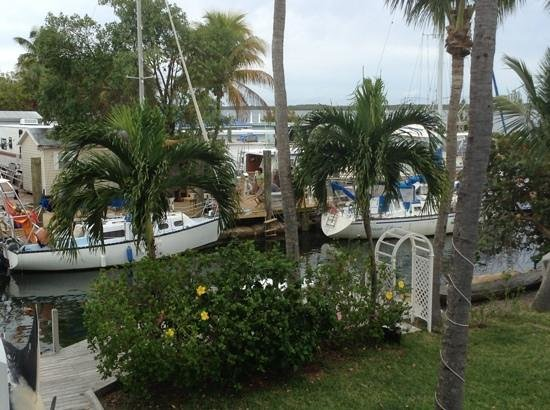Tarpon Flats Inn: Balcony View