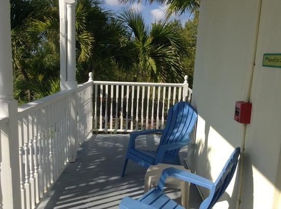 Tarpon Flats Inn: Our balcony