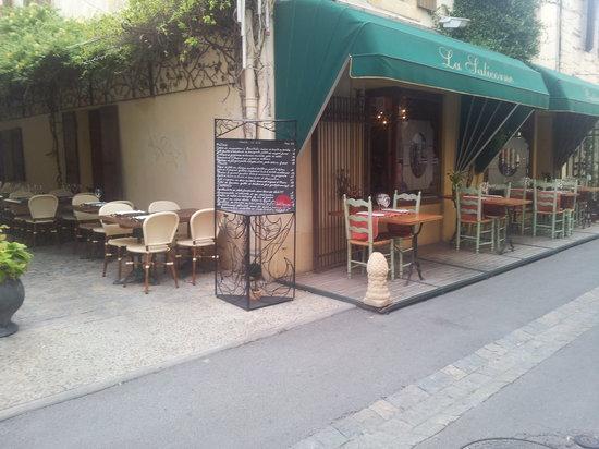 Restaurant la Salicorne: ou agréable