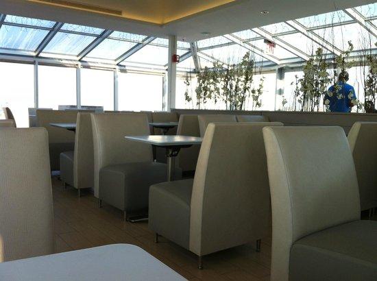 Hotel de Point: Dining area top floor ( 5th)