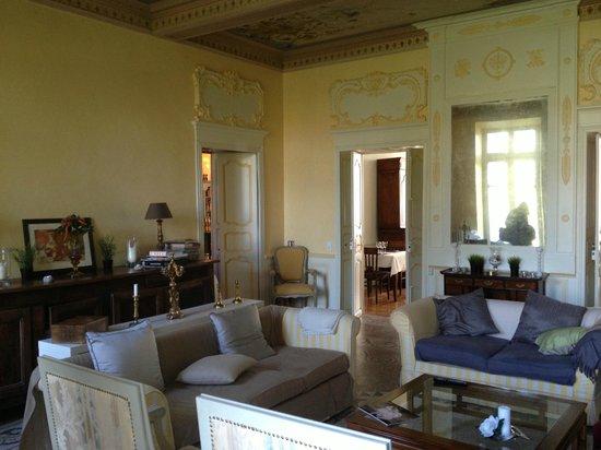 Chateau de Gramazie : salon
