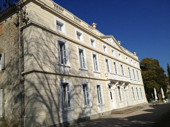 Chateau de Gramazie : fachada
