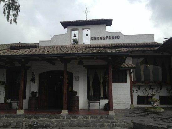 Hacienda Abraspungo: Entrada