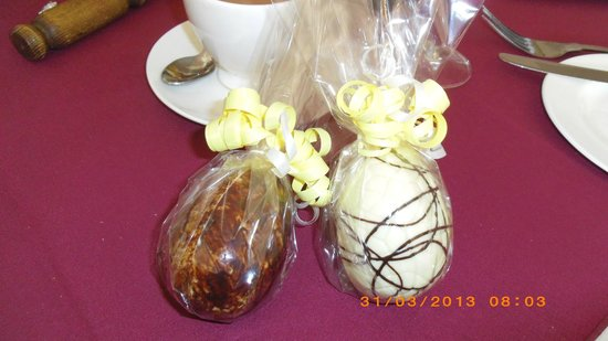 Cragwood Country House Hotel: Easter Eggs