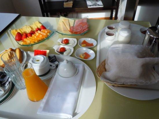 Solar dos Mouros : petit dejeuner en chambre
