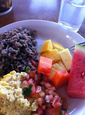 Costa Rica Yoga Spa: delicious meals